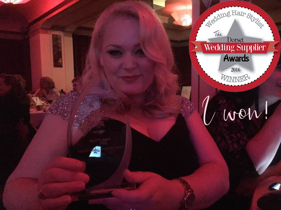 Dorset Wedding Supplier Awards 2016 - Wedding Hair Stylist of the Year