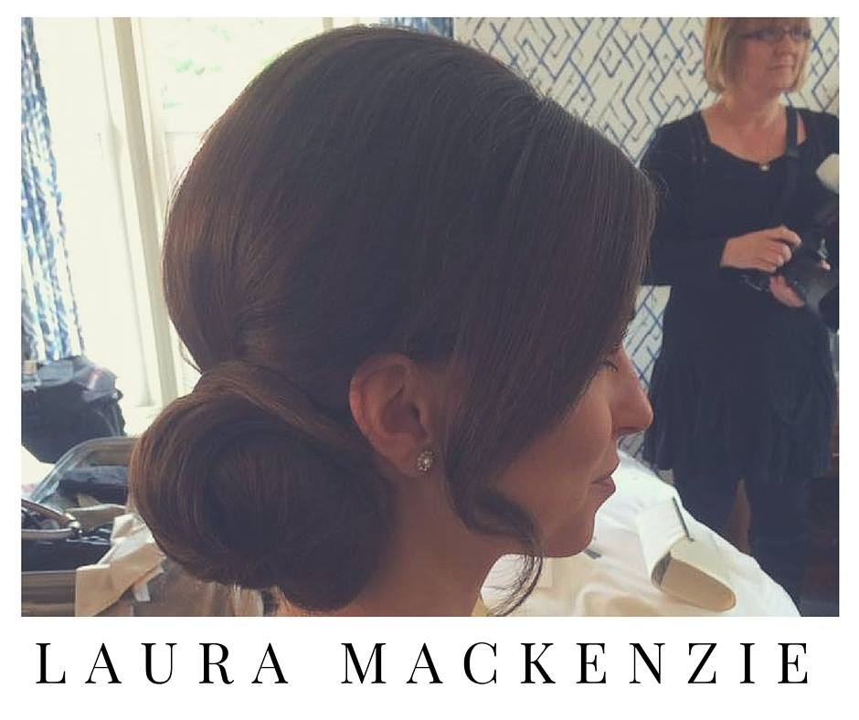 Wedding Hair Trials at Laura's studio